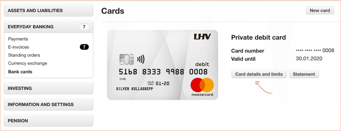Payments · FAQ · LHV