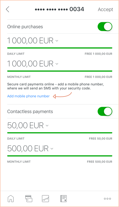 Payments · FAQ · LHV